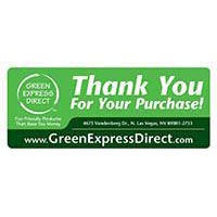 Green Express Direct Sticker