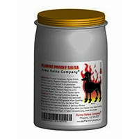 Flamming Poodle Salsa Packaging
