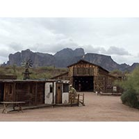 Landscape: Superstition Mountain