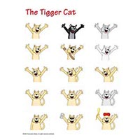 Mascot: Tigger Cat Group<BR><a class=nav href=pix/SAMPLES_Photo_ill/pdfs/TiggetCatsGroup.pdf target=new>(PDF)</a>